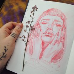 Sketch Face Audra Auclair — Still on my way to visit my little bro. Audra Auclair, Art Sketches, Art Drawings, Drawing Faces, Bel Art, Art Et Design, Drawn Art, Arte Sketchbook, Sketchbook Pages