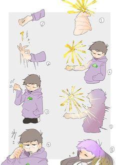 ❤Osomatsu-san Imágenes 2❤[Terminado] - Chicas Mágicas(? - Wattpad Anime Guys, Manga Anime, Osomatsu San Doujinshi, Sans Cute, Irish Art, Body Reference, Ichimatsu, Pretty Cure, Character Drawing