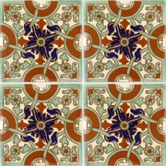 Naples 2 Terra Nova Hacienda Ceramic Tile