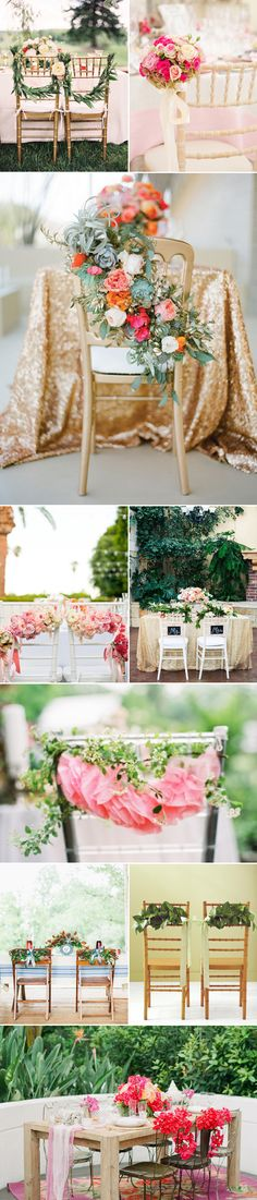 40  Awesome Wedding Chair Décor Ideas | http://www.deerpearlflowers.com/wedding-chair-decor-ideas/
