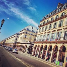 Rue de Rivoli in Paris, Île-de-France Famous because of it's many offers, it has wide varities of stores including popular chain stores that are well known in the busy street. Its connected to Napoleon's early victory against the Austrian army, at the battle of Rivoli, fought in 1797.