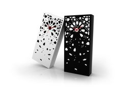 Snowflake inspired clocks by Darenart | Zel
