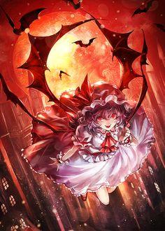 Scarlet night by KOZOUSAN.deviantart.com on @DeviantArt