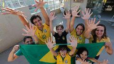 Six-finger family wants Brazil win