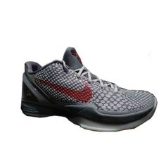 buy popular e51ff f664a 429659-017 Nike Zoom Kobe VI Lower Merion Aces Metallic Platinum Varsity  Crimson Cool Grey
