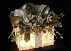 ELEGANT CHRISTMAS AND SPECIAL OCCASION DECORATIONS!!! Bebe'!!! Beautiful gift wrap!!!!