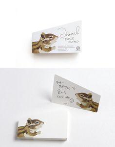 アニマルボイスメモ | paperable(ぺパラブル) - 紙とできること。