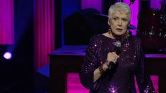 This 69-year-old comedienne is as spry as a spring chicken! That's Jeanne Robertson performing live at the Grand Ole Opry. She has this country-loving crowd rolling in the aisles laughing!