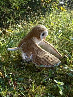 Amigurumi Barn Owl : Crochet Barn Owl Pattern (PDF) Toys, Patrones and Note