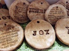Deborah Gayle Studio - Open the door to your creativity!  Clay Tags