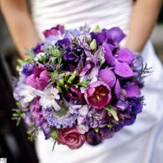 More purple flower ideas for Jen's bouquet