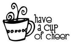 Cup of Cheer Sentiment - Paper Crafts magazine