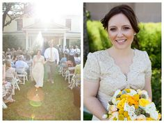 {Real Wedding} Kendra & Scott: Charming Vintage DIY California Wedding | Oh Lovely Day