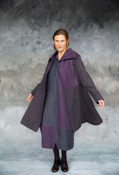 Oxford Coat in wool, £465