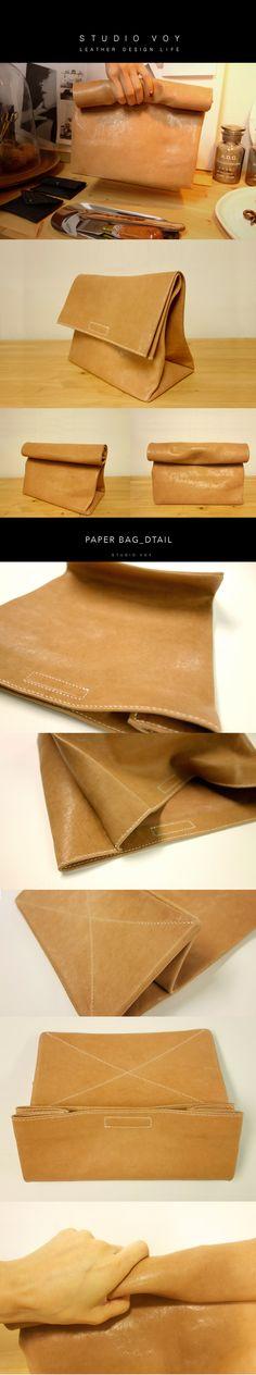 Clutch bag, Bracelet, handmade, leather, learherworks, wallet, leathercraft,craft, bag, paperbag, studiovoy.com