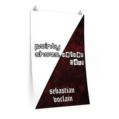 Judgement Day Collection: Pointy Shoes, Velvet Coat Poster - 24″ × 36″ / CG matt