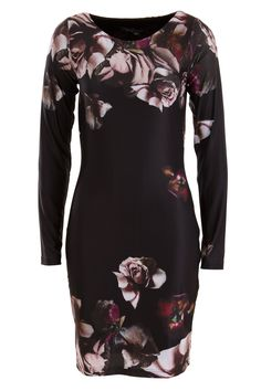Decay Floral Print Dress