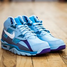 bfe95b357af7 Nike Air Trainer SC High Leche Hornets Blue 302346 402 Mens Size 13  nike