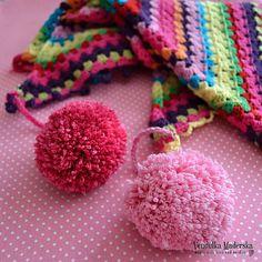 Crochet rainbow scarf  - crochet pattern.  $5.00 for pattern 6/14.