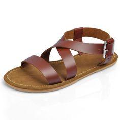 Taobao special hot men sandals england roman sandals, leather sandals, mens sandals leather sets foot sub china english wholesale Sock Shoes, Shoe Boots, Shoes Sandals, Leather Men, Brown Leather, Roman Sandals, Best Shoes For Men, Strap Sandals, Leather Sandals