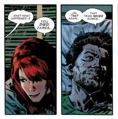 Natasha and Bucky  Fear Itself #7: Captain America Marvel comics
