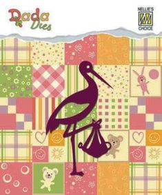 Nellies Die's – Country Crafts & Stamps Country Crafts, Stork, Choices, Kids Rugs, Quilts, Blanket, Baby, Stamps, Design