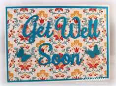Dar's Crafty Creations: More Get Well Cards