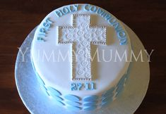 First Holy Communion Cake « Yummy Mummy