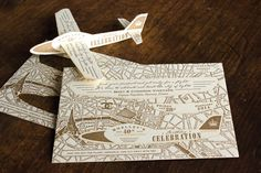 """<p> For a 40th birthday bash in France, the designers of <a href=""""http://www.bizbash.com/ladyfingers-letterpress/boston/listing/874550"""">Ladyfingers Letterpress</a> made a one-of-a-kind laser-cut invite that..."""