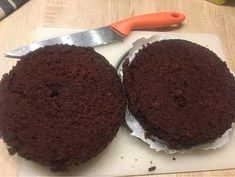 Tej és tojásmentes csokitorta (Sacher) recept lépés 5 foto Tej, Muffin, Breakfast, Food, Morning Coffee, Essen, Muffins, Meals, Cupcakes