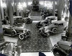 1938 car show held in the Drake Hotel