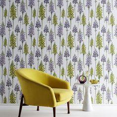 Foxglove Wallpaper – Shop Tent 30ye