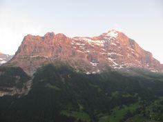 Blick zu Eiger -Nordwand
