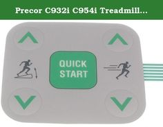 Precor C932i C954i Treadmill Snap Dome 5 Button Label p/n 48778101. This is the replacement 5 button snap dome label for precor models: C932i (120 VAC)(serial code AXGT, AXGX), C932i (240 VAC)(serial code AYYT), C954i (120 VAC)(serial code AEXE, ADEY), C954i (120 VAC)(serial code ATTD, AB37), C954i (240 VAC)(serial code AJKE, AEWY), C954i (240 VAC)(serial code AXHD, AJPC).