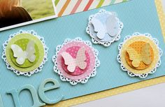 DIY Punch Project - These would be cute on invitations/favors or add a toothpick and put them in the top of cupcakes, etc.  Click the image for the DIY tutorial.