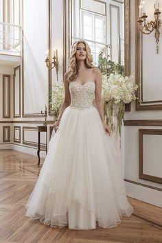 Justin Alexander Fall 2015 Bridal Dresses Collection | http://www.deerpearlflowers.com/justin-alexander-fall-2015-bridal-dresses-collection/