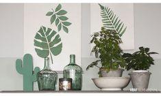 Sjabloneren, alle tips en trucs Stencils, Canvas, Plants, Ideas, Tela, Canvases, Templates, Plant, Stenciling