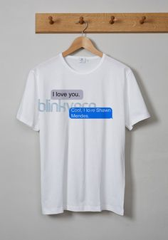Shawn mendes messages awesome unisex tshirt adult