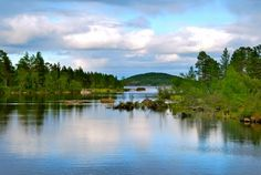Inarinjärvi Siidan luona. Kaipaan tuonne!
