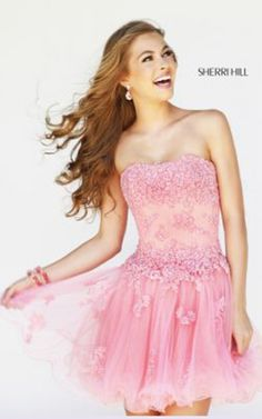 Shop short prom dresses and long prom dresses at PromGirl. Long prom gowns, short dresses for prom, prom dresses and cute prom dresses for junior and senior prom. Sherri Hill Prom Dresses Short, Short Strapless Prom Dresses, Cute Prom Dresses, Prom Dresses 2015, Lace Party Dresses, Designer Prom Dresses, Long Prom Gowns, Sweet 16 Dresses, Short Dresses