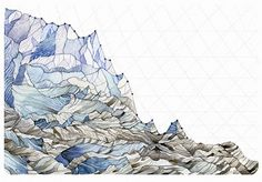 These Beautiful Paintings Turn Depressing Climate Change Graphs Into Art | Co.Exist | ideas + impact