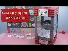Máquina PALOMITAS de Papel con Mensajes - YouTube
