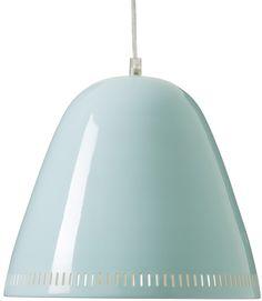Grande Lampe Suspension Bleu Opale - Lili's