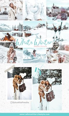 White Winter - 3 Mobile Lightroom Presets #lightroom #lightroompresets #presets #lightroom #blogger #travel #travelblogger #winter #winterpresets #whitewinter #christmas Vsco Presets, Lightroom Presets, Photography Editing, Photo Editing, Free Photo Filters, 3 Mobile, Snow Pictures, Camera Settings, Winter White
