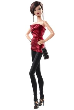 City Shine™ Barbie® Doll - Red | BLACK LABEL® | Designed by: Bill Greening | Release Date: 6/1/2015 | Barbie Collector