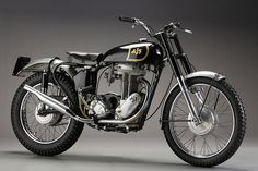 The SWEETEST ajs based its evergreen 16 350 cc single on a ww2 matchless military ...