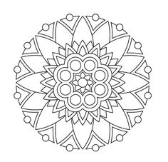 29 Printable Mandala Amp Abstract Colouring Pages For