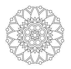design-pdf-printmandala-4c72679f35be02dd2858f744443cec39 Abstract Coloring Pages, Pattern Coloring Pages, Mandala Coloring Pages, Coloring Pages To Print, Coloring Pages For Kids, Coloring Books, Coloring Sheets, Lotus Flower Mandala, Simple Mandala