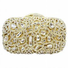 Dot Pattern Crystal Evening Bags Women Luxury Clutch Prom Bag Studded Diamond Evening Clutches Purse_3     https://www.lacekingdom.com/