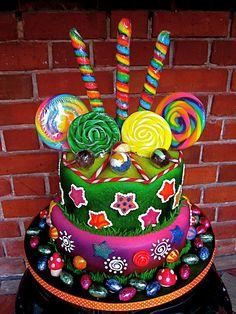 I want Candy Cake